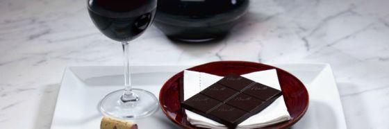 Armonías de 4 tipos de chocolates con vinos, spirits e infusiones