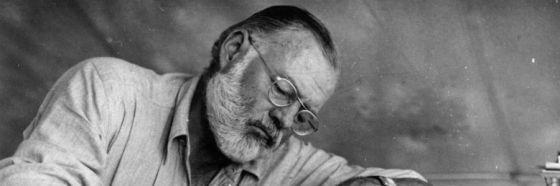 Colinas como elefantes blancos, Ernest Hemingway