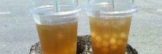 Té de perlas bubble tea tapioca taiwan