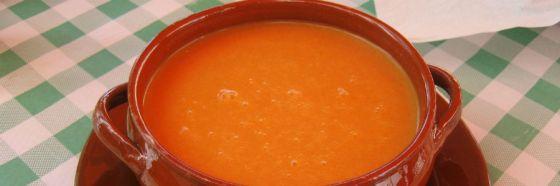 Gazpacho receta sopa fría española