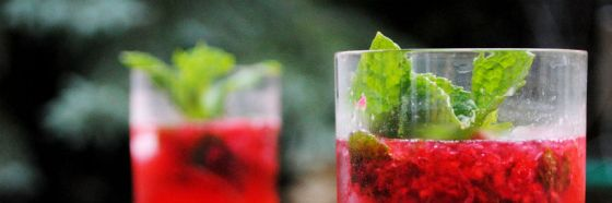 Mojito de fresa strawberry frutilla