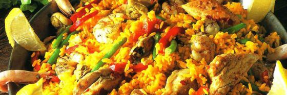 Paella arroz marinera spain on the road again batali bittman