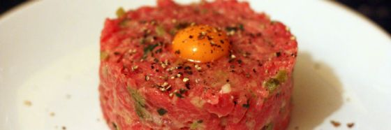 Steak tartare receta carne cruda