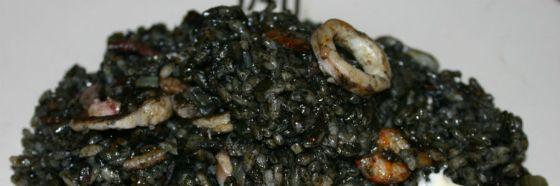 Arroz negro squid ink