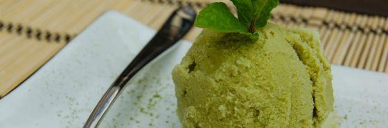 Helado de té verde receta green tea
