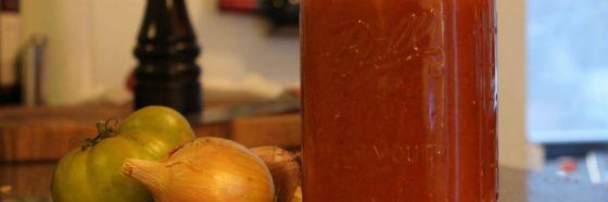 Ketchup casera receta