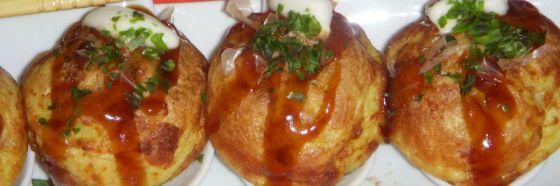 Takoyaki o bolitas de pulpo