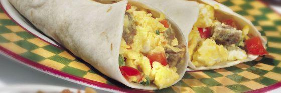 Burrito de desayuno