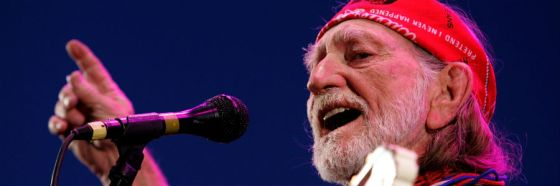 I never cared for you, Willie Nelson