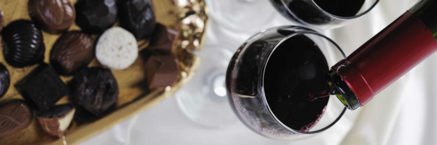 3 opciones para armonizar vino y chocolate oscuro