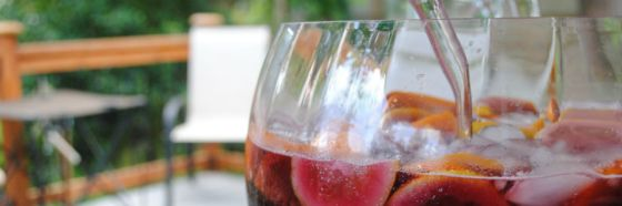 Ginger brunch sangria