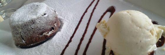 Fondant de chocolate picante