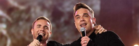 Shame, Robbie Williams and Gary Barlow