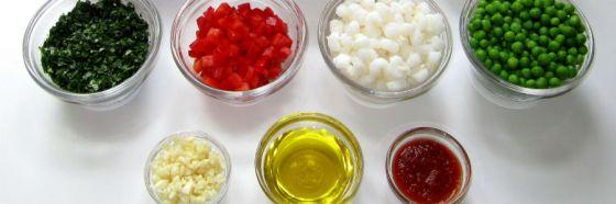 4 razones para alistar los ingredientes antes de cocinar