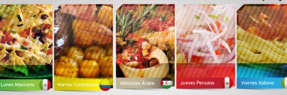 menu hotel eurobuilding caracas almuerzos tematicos paises
