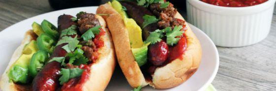 choripan chorizo hot dog