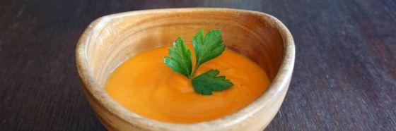 carrot soup cream