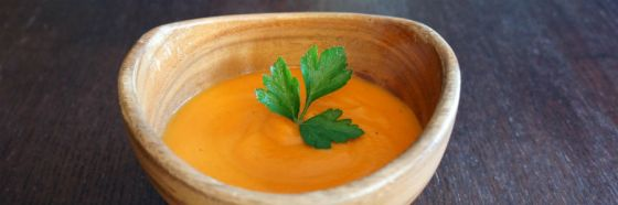 carrot soup cream