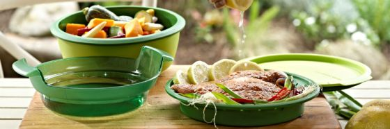 comida gourmet tupperware food