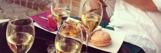 champagne meal menu