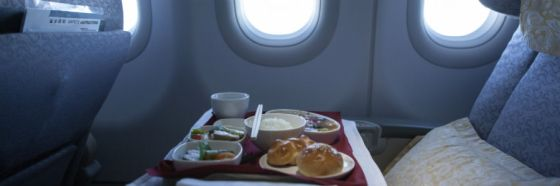 airline meal breakfast