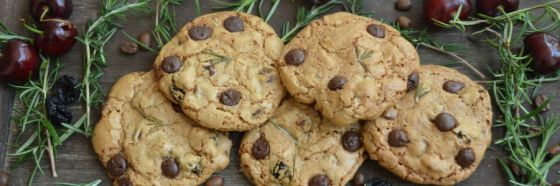 chocolate chips rosemary cookies