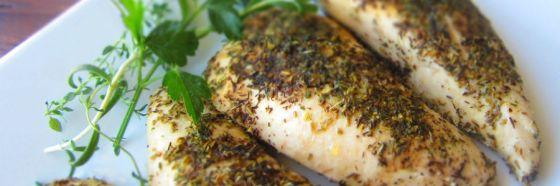 herbs turkey breast roasted