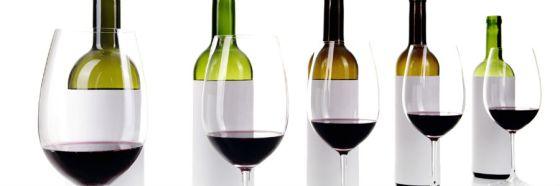 blind tasting wine bottles