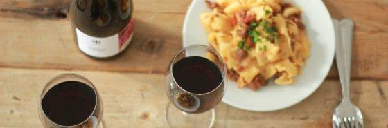 red wine pasta pairing