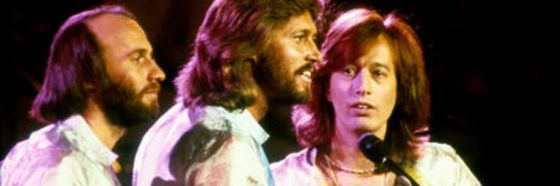 bee gees 70's singing