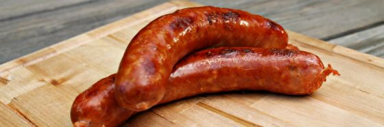 sausages chorizos grilled