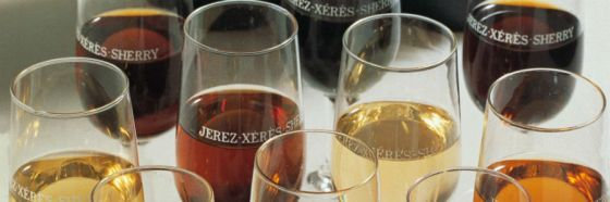jerez sherry glasses