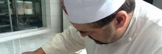 chef silvio bessone plating italy