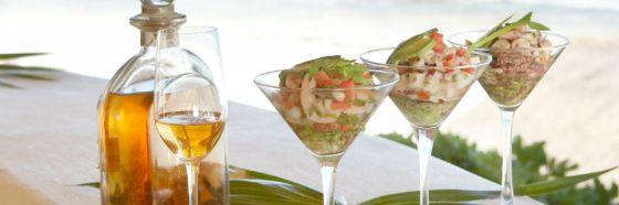 ceviche tequila mezcal cocuy eau de vie pairing