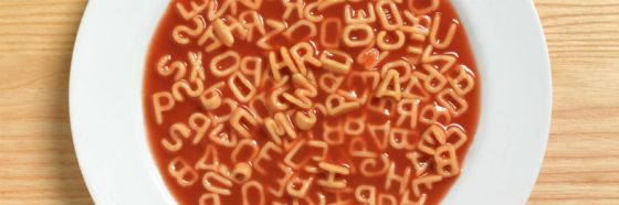letter soup red