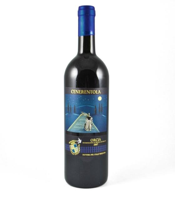 italian tuscny wine bottle