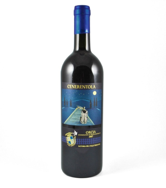italian tuscny wine bottle