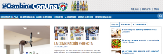 blog cervezas polar empresas solera light