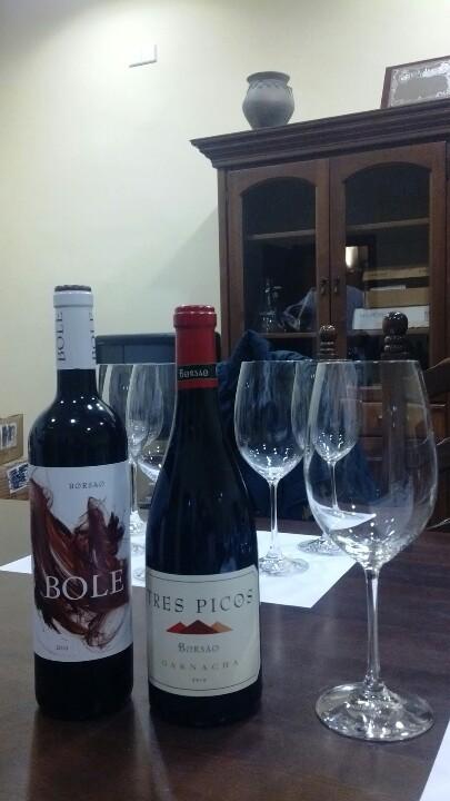 bole 3 picos borsao garnacha wines spain