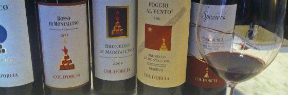 col dorcia wines brunello montalcino