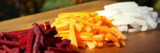 carrot daikon beet