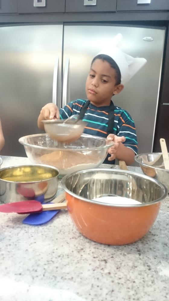 niños y cacao