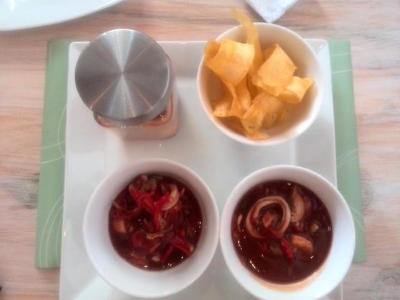 fosforera playa sopa venezuela mariscos seafood