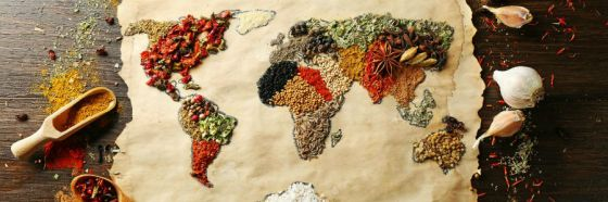 world atlas grains food