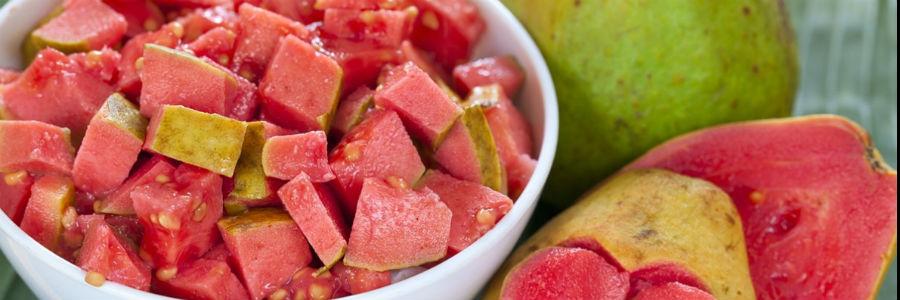 guava salad fruit organic