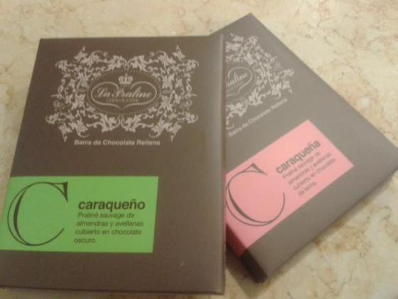 venezuelan chocolate bar la praline caracas