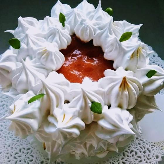 Esnobgourmet torta frutas San Valentín