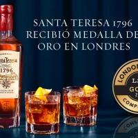 3 razones para brindar por la medalla de oro de Santa Teresa 1796 en London Spirits Competition